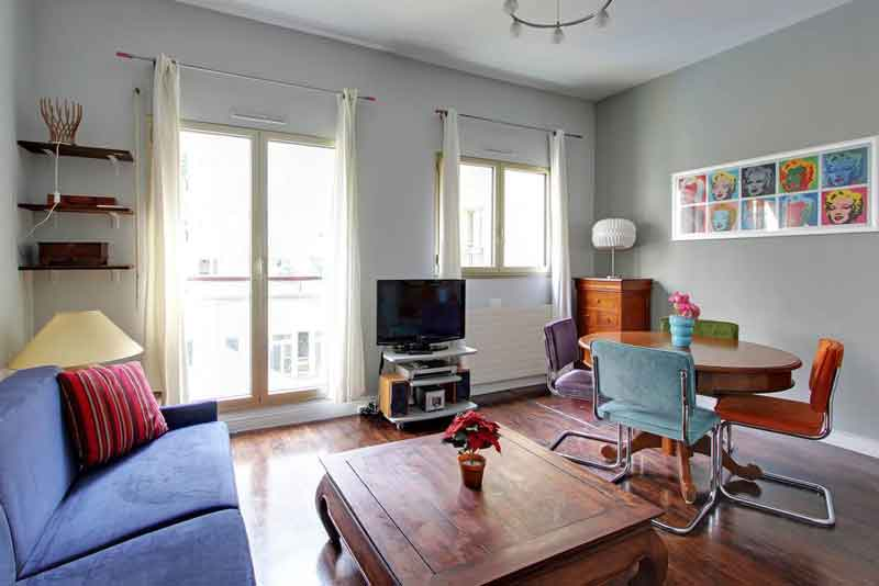 Short Stay Apartment Pompidou Paris